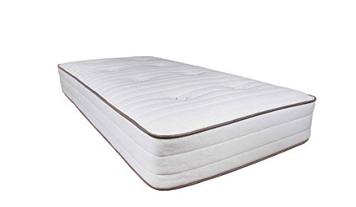My Green Mattress - Pure Echo GOTS Certified Organic Cotton Natural Mattress (One-Sided) (Twin) Made in The USA