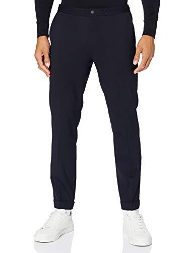 Tommy Hilfiger Uomo, Pantaloni, Active Wool Blend Pant, Blu (Desert Sky), W32 / L32