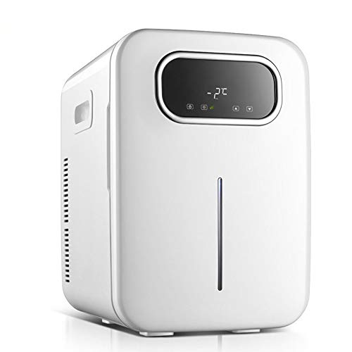 Wzdszuilbx 20L Mini Fridge Portable Beer Beverage Drink Can Cooler or Warmer Car Refrigerator.