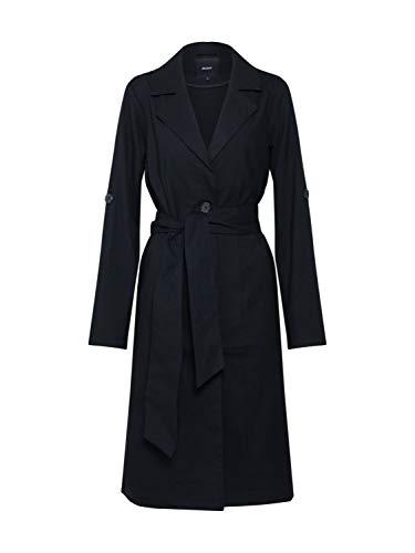 Object NOS Damen Objannabelle L/S Jacket Noos Jacke, Schwarz (Black Black), Large (Herstellergröße: L)