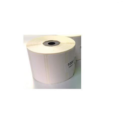Rollo de etiquetas térmicas de 56 x 25 mm, con 1000 etiquetas para Epson TM-L60 TM-L60II TM-L90 Zebra Easycoder Citizen