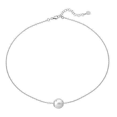 Majorica Collar cadena Mujer chapado en plata - 15466.01.2.000.010.1