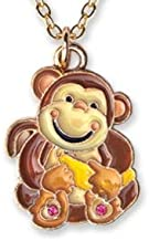 Expressively Yours Nature's Friends Child Pendant Necklace with Gift Box, Monkey