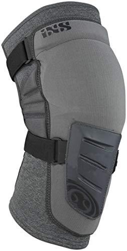 IXS Trigger Knee Guard Knieschoner, MTB/BMX, Unisex, Erwachsene, Grau, M