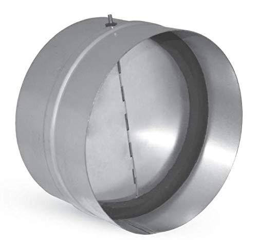Valvola di non ritorno aria con guarnizione interna per condotte aria - diametri vari (diametro 125 mm)