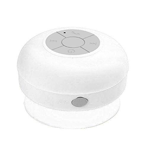 OPAKY Subwoofer Tragbare Dusche wasserdichte Freisprecheinrichtung Bluetooth Lautsprecher für iPhone, Samsung usw.