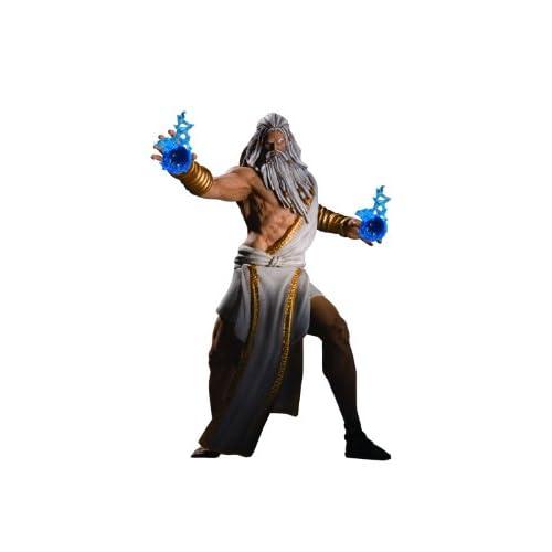 DC Direct - Statuetta di Zeus, Dio della guerra, 16 cm