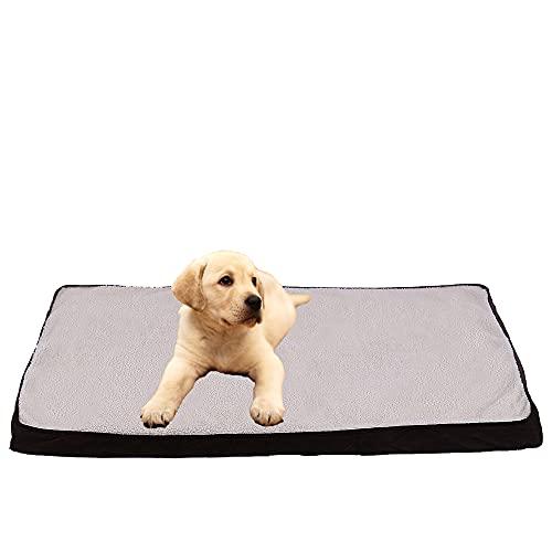 Cuccia per cani di piccola taglia, rettangolare (85 x 55 x 5,5 cm) con memory foam, materasso per...