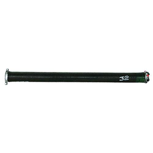 Prime-Line Products GD 12235 Garage Door Torsion Spring, .250 in. x 2 in. x 32 in., Green, Left Hand Wind