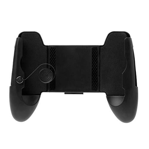 planuuik 3 en 1 Rocker Gamepad Soporte de manija Soporte para teléfono móvil Jokstick Grip Pantalla extendida Controlador de Juego Botón Control Viaje portátil