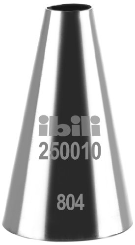 Ibili 250010 Spitze für Spritzbeutel, rund, glatter Oberfläche, 10 mm