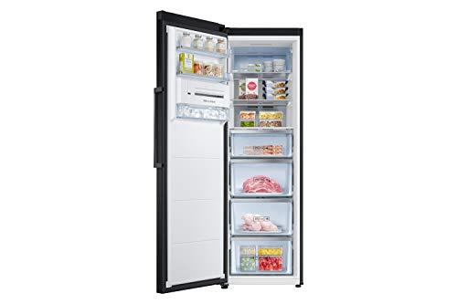 Samsung RZ32M7535B1/ES Freezer Monoporta, 315 L, Nero Matte, 59.5 x 185.3 x 69.4 cm
