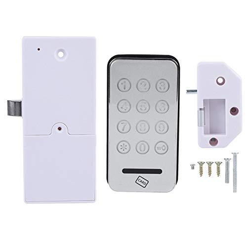 Bloqueo de contraseña Tarjeta RFID electrónica Segura Teclado táctil Seguridad en el hogar Digital