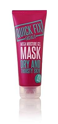 Quick Fix Facials Mega Moisture Gel Mask, 100 ml