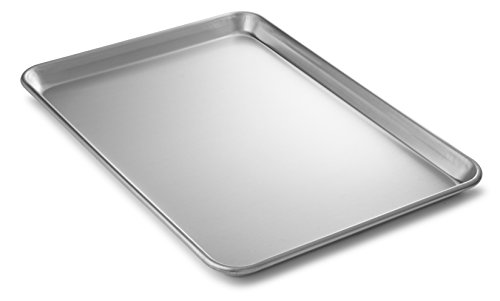 "Bellemain Heavy Duty Aluminum Half Sheet Pan, 18"" x 13"" x 1"""