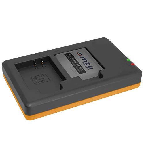 Cargador Doble (Corriente, USB) para para NP-BK1 / Sony DSC-S750, S780, S950,...