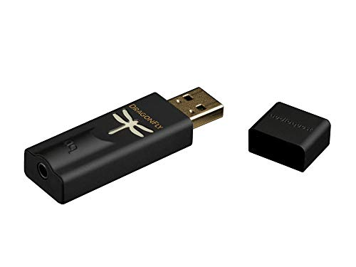 AudioQuest DragonFly Black v1.5 Plug-in USB DAC + Preamp + Headphone Amp