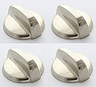 Edgewater Parts WB03T10295 4 Pack Gas Valve KnobS Compatible With GE Oven/Range 4 lot