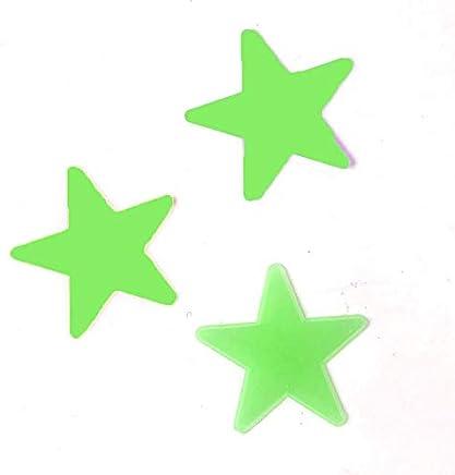 Clockeikic 3D Stars Glow In The Dark Wall Stickers Luminous Fluorescent Wall Stickers