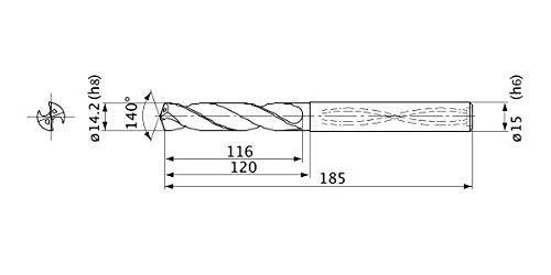 Mitsubishi Materials MVS1420X05S150 MVS Dri Free shipping on posting reviews Max 81% OFF Series Solid Carbide