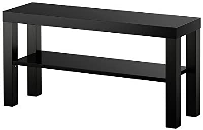 IKEA Lack – Mueble TV, 90 x 26 x 45 cm, con estante, color ...