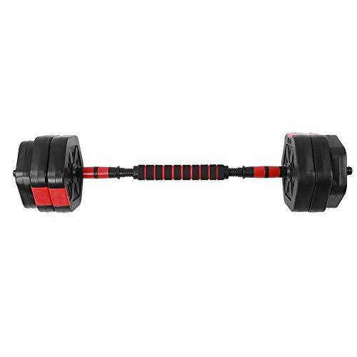 EBTOOLS - Kit de mancuernas ajustables para entrenamiento muscular y halterofilia hexagonales con biela de 25 cm, mancuerna de gimnasia práctica para casa, combinación gratuita