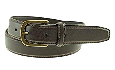 Thomas Bates Coleman Boys Leather Belt (22, Brown)