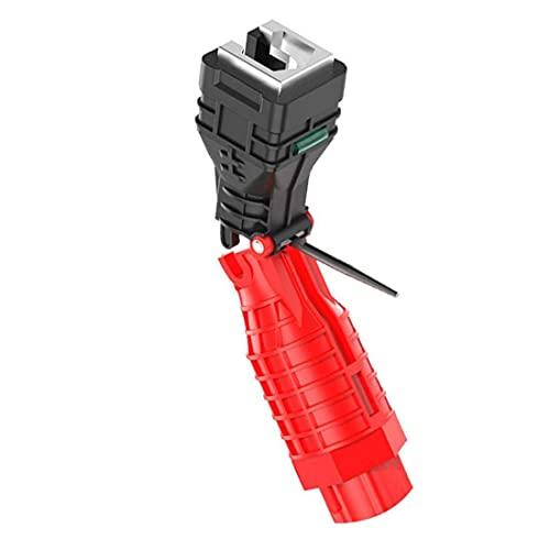 Llave de grifo de tubería de agua plegable 18 herramientas en 1 llave de tubería para inodoro, cocina, fontanería, repetición, exquisita herramienta de mano