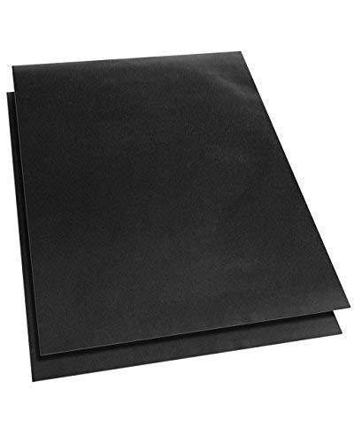 Backofeneinlage, robust, Teflon-beschichtet, antihaftbeschichtet, 40 x 50 cm, ideal für Umluftöfen, 2 Stück