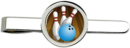 Giftshop UK 10 Anstecknadel Bowling Krawatte Clip