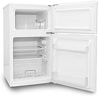 ALLEGiA(アレジア) 2ドア 小型 冷蔵冷凍庫 (97L) AR-BC97-NW 一人暮らし 単身 家庭向け
