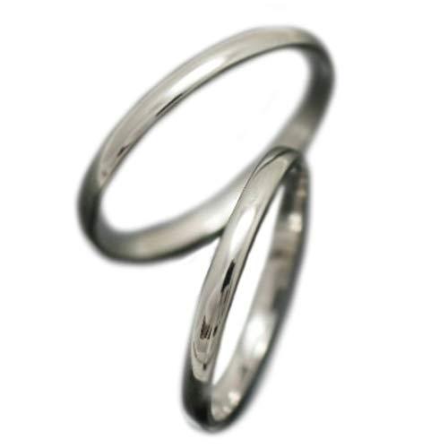 [ココカル]cococaru ペアリング プラチナ 結婚指輪 プラチナ Pt900 甲丸2本セット マリッジリング 日本製 (レディースサイズ10号 メンズサイズ5号)