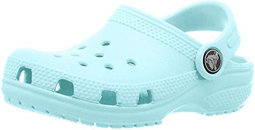 crocs Unisex-Kinder Classic Kids Clogs, Blau (Icbl), 24-26EU
