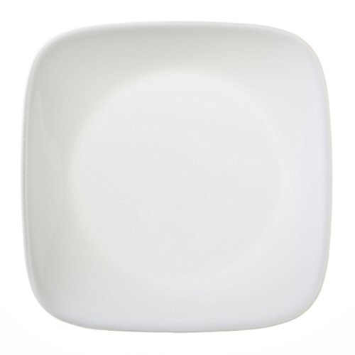 CORELLE Square Pure White 6-1/2' Bread & Butter Plate