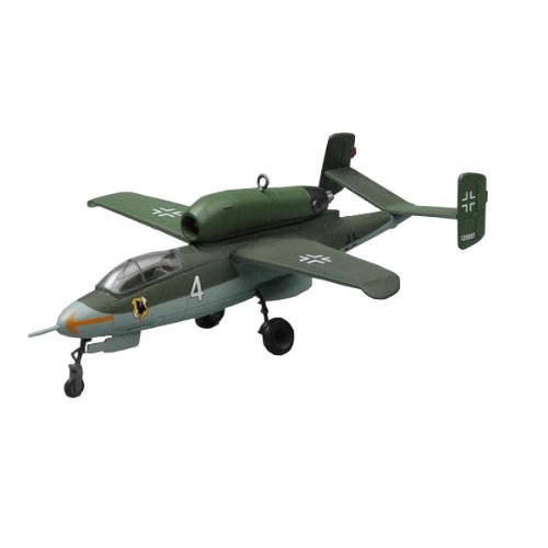 Easy Model 36345 - Maqueta de avión He.162A-2 (W.Nr.120097