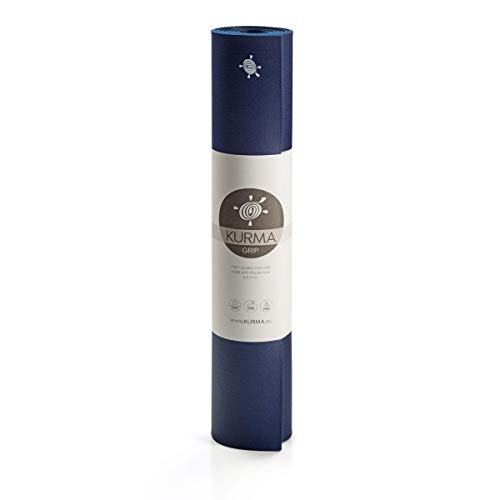 Yogamatte KURMA Color Grip, Nightfall, L: 185 cm/B: 66 cm/H: 0.65 cm