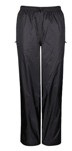 Viking Women's Standard Windigo Waterproof and Windproof Packable Pants, Black, Small