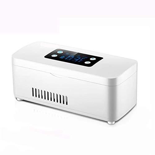 Refrigerador Insulina, Refrigerador Almacenamiento Medicina PortáTil, Pantalla LCD Smart Mute, Caja PíLdora Gran Capacidad, Accesorios Para AutomóViles Para InterferóN Insulina-default