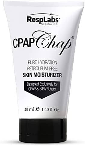RespLabs CPAP Chap Face Cream, 40ml - Designed Exclusively for CPAP, BiPAP and Pap Users - Pure Hydration, Petroleum-Free, Skin Moisturizer.