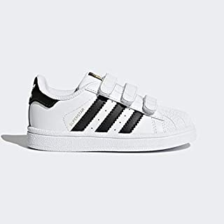 Adidas Originals White & Black Fashion Sneakers For Kids