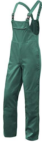 strongAnt - Latzhose Herren Hamburg Kombi-Hose Berufskleidung - Kermen - Größe: 94, Farbe: Grün