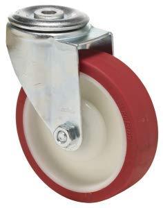 80 mm rueda giratorio de poliuretano (sintética) – Heavy Duty – muebles, aparato y equipo rueda por Colson ruedas