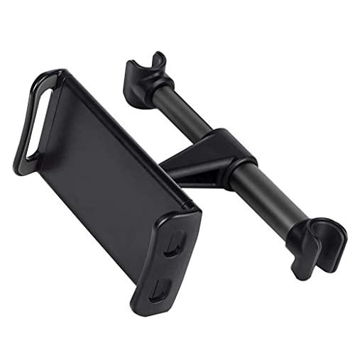 FKSDHDG Soporte de teléfono para asiento trasero de 360 grados ajustable multi-ángulo para tableta de teléfono, soporte de aluminio, para uso en coche, hogar (color: A)