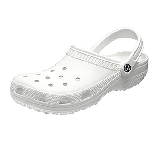ZOGBX Zapatillas para Mujer Hombres Mujeres Zapatos De Jardín, Zapatos De Playa Unisex De Verano, Zapatillas De Malla Sandalias Slippeso Ligero En Mulas Zapatillas para Caminar Al Aire Libre