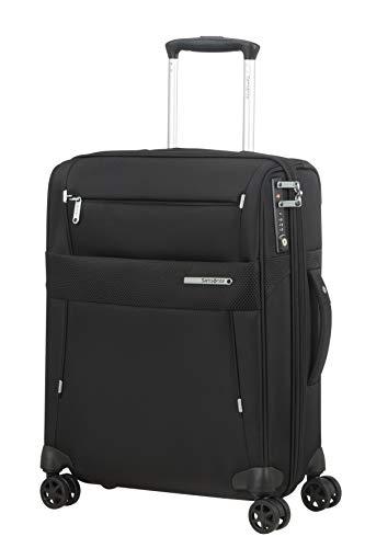 Samsonite Duopack - Maleta de equipaje de mano, talla S (55 cm - 49 L), Negro (Black)