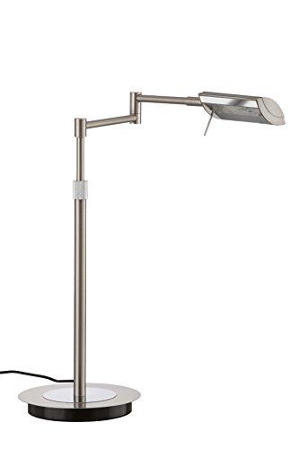 Briloner Tischlampe, Tischleuchte, Nachttischlampe, LED Tischleuchte, Leselampe Bett, LED Tischlampe, Nachttischlampe Kinder, Nachttischlampe Modern, Nachttischlampe Kinderzimmer, Wohnzimmer Tischlampen, dimmbar, höhenverstellbar
