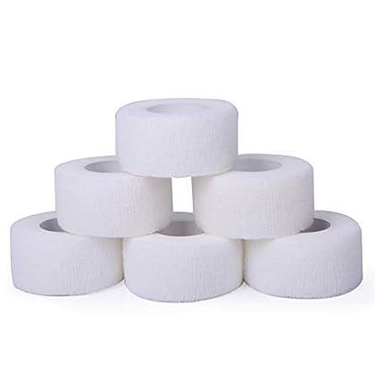 [スプレンノ] 包帯 自己粘着包帯 6ロール 凝集包帯 伸縮包帯 弾性包帯