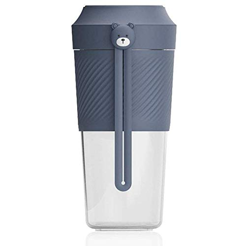 REWD Portable Personal Blenders for kitchen Small Portable Blender, Mini Personal Blender,Fruit Juicer Mixer for Home Outdoor Travel Office With USB Rechargeable,Detachable Cup BPA Free,400ml