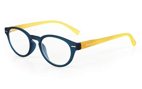 Distinguo lampa Giotto leesbril - navulbaar Singola gradatie - +3.0 - blauw-geel