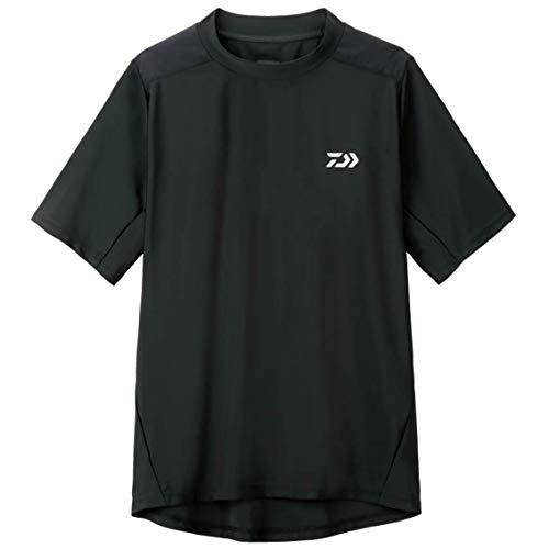 ダイワ(Daiwa) 釣り シャツ 半袖 ラッシュガードシャツ DE-6107 ブラック M